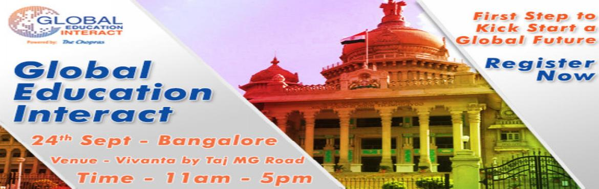 Gear Up Bangalore for Global Education Fair 2016