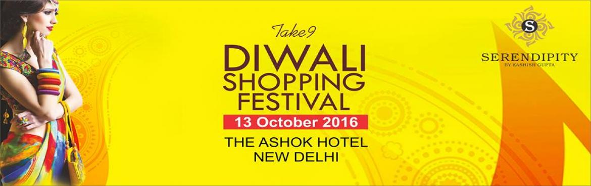Book Online Tickets for Serendipity Take 9 - Diwali Shopping Fes, NewDelhi. Serendipity Events invites you to be part of the Seasons most premium lifestyle and fashion exhibition in Delhi. #SerendipityTake9 #DiwaliShoppingFestival #delhieventsWe have handpicked over 100 designers from across the country and overseas to make