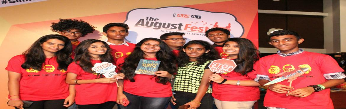 Book Online Tickets for Student Ticket @ The August Fest 2016, Hyderabad.    The August Fest is now into it\'s 4th Edition and is one of the Largest Startup Conferences that Celebrates Arts and Entrepreneurship in Asia ! Last year we hosted 4200 amazing people from 40 cities and 10 countries. This year we are exp