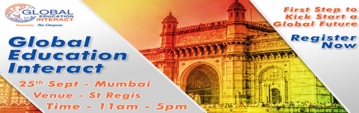 Biggest Global Education Fair 2016 in Mumbai