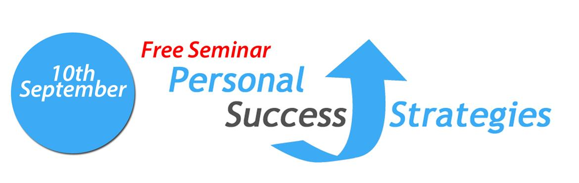 Free Seminar: Personal Success Strategies copy