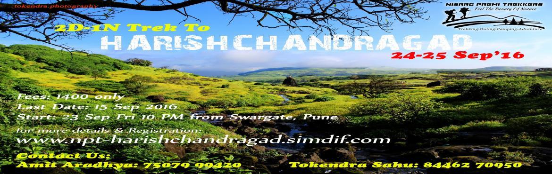 Book Online Tickets for 2Days/1Night Trek to HarishchandraGad - , Pune. Before Registration, Please contact our OrganisersAmit Aradhya: 7507999420 / Tokendra Sahu: 8446270950 **********Nisarg Premi Trekkers*********** *****निसर्ग प्रेमी ट्रेकर्स***** Trek to