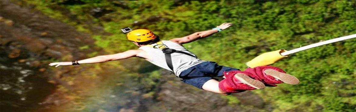 Book Online Tickets for Bungy Jumping and River Rafting in Rishi, Rishikesh. Travolution brings you River Rafting, Bungy Jump and Camping in Rishikesh, Uttarakhand   Are you a true Adventure Lover? Prove yourself at RISHIKESH…!! Highlights: 1) Bungee Jumping 2) River Rafting 3) Camping in Jungle. 4) Games, Volleyb