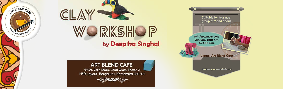 Clay Workshop by Deepika Singhal