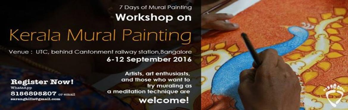 7 days Workshop on Kerala Mural Painting