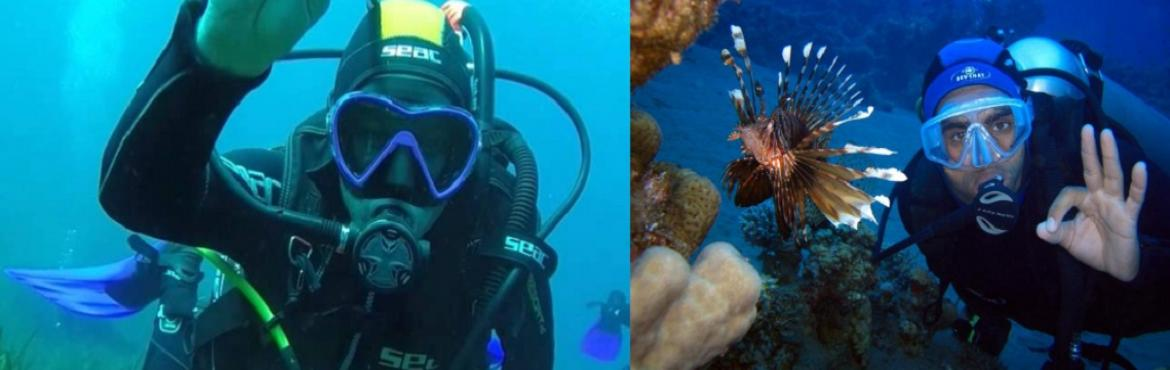 Discover Scuba Diving starts from Pondicherry