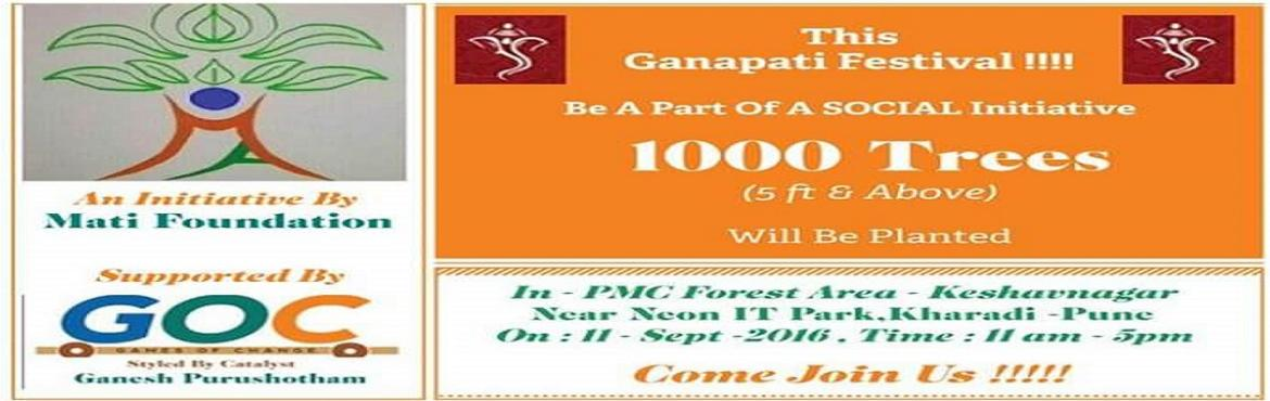Pune 1000 Tree Plantation