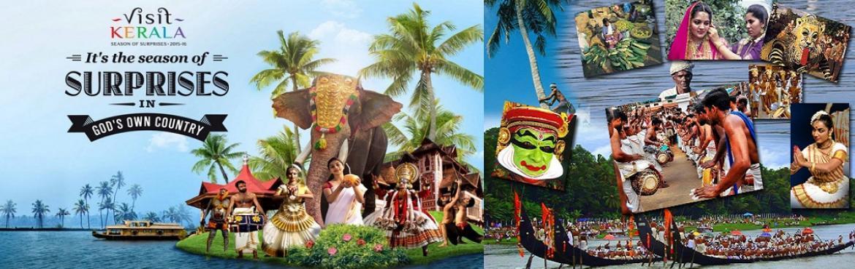 Romantic Journey to Kerala 1N Alleppey ,1N Cochin ,2N Munnar ,1N Thekkady ,1N Kumarakom