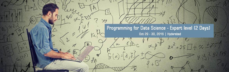 R Programming for Data Science - Expert level (2 Days)