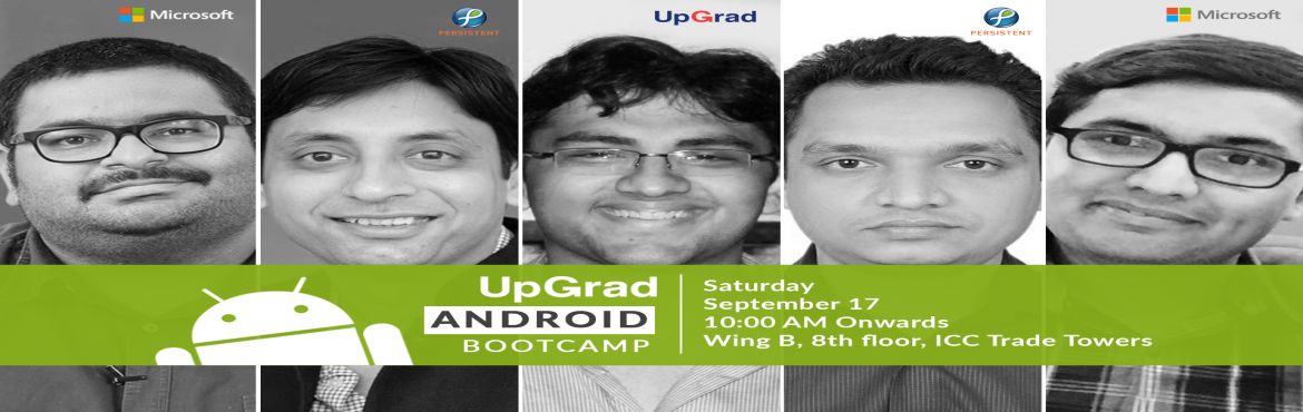 UpGrad Android Development Bootcamp