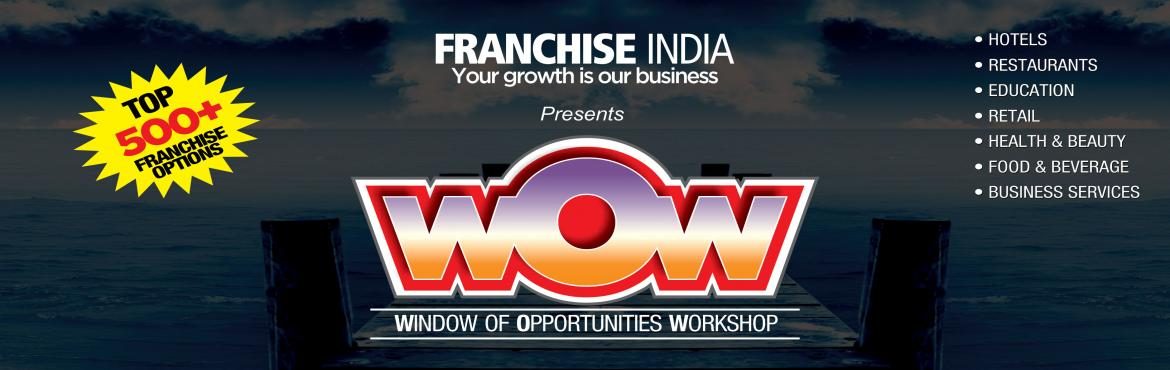 Book Online Tickets for Windows of Opportunity @WOW, Chandigarh. Windows of Opportunity Workshop (WOW) sessions are aimed at introducing & exploring the world of business opportunities to budding investors. These events are proposed and organised in a bid to advise them and guide them to the best business oppo