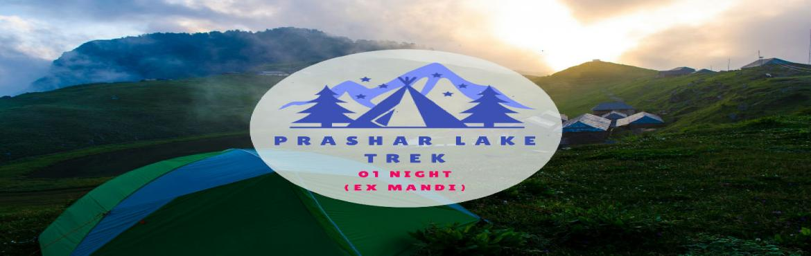 Book Online Tickets for Parashar Lake Weekend Trek, NewDelhi. The Experience Surrounded by the Dhauladhar ranges in Kullu Valley is a blue-water lake called Prashar. It is a well-kept secret in the Mandi district of Himachal Pradesh. The trek to Prashar Lake follows a charming trail through a forest and several