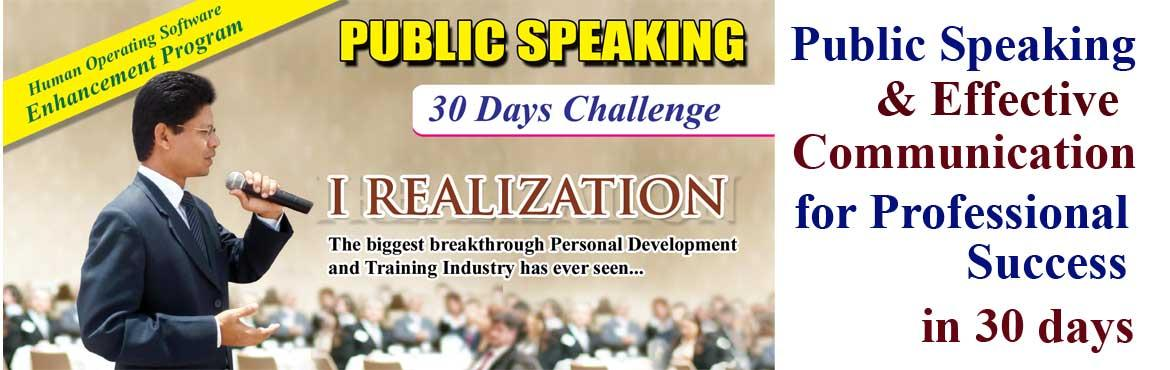 Book Online Tickets for Public Speaking and Effective Communicat, Hyderabad. Public Speaking and Effective Communication Skills can be mastered by practice and practice.  To practice public speaking & presentation skills we have created a right environment & platform for this special purpose to practice again & ag