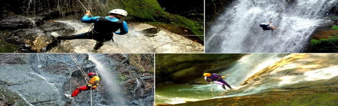 Madhe Ghat Waterfall Rappelling