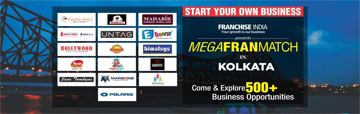 Book Online Tickets for Mega FranMatch Kolkata, Kolkata. One of its kind concepts from Franchise India, MegaFranMatch (MFM) brings together the prospective franchisees and the franchisor on a single platform, based on their business requirements, location, investments, and most importantly, share the same