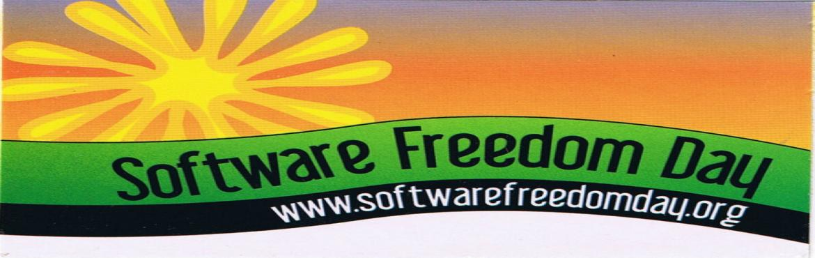 This is to bring to your notice that we are celebrating Software Freedom Day(SFD) on the 17th of September this year. SFD is a global public education