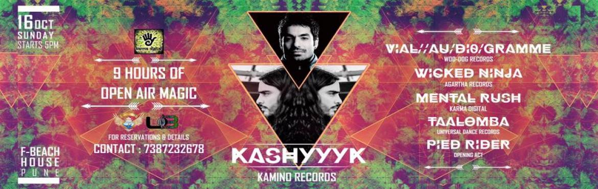 Book Online Tickets for KASHYYYK -Kamino Recds - VIAL - AU/DI0/G, Pune. ★★★KASHYYYK -Kamino Recds ★★VIAL - AU/DI0/GRAMME & More-16th Oct-Pune★★  Kashyyyk Bio Kashyyyk is Pablo Valdés from Mexico City. He started playing guitar when he was 14 years old and through the years he became a professiona