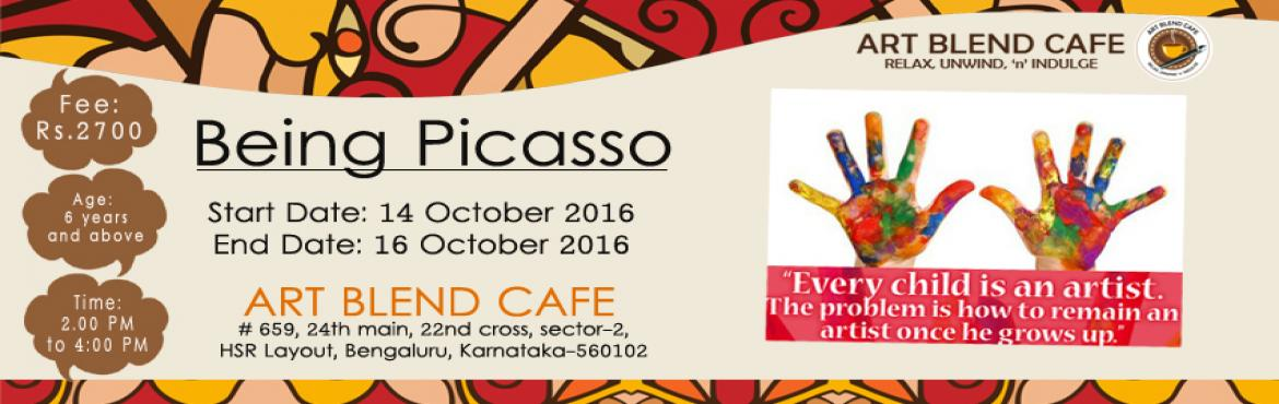 Book Online Tickets for Being Picasso by Nirali Shah, Bengaluru.