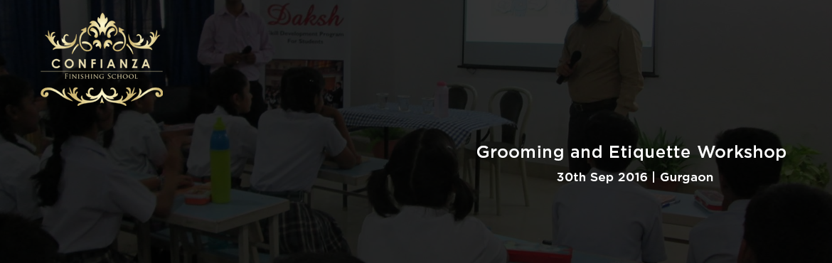 Grooming and Etiquette Workshop