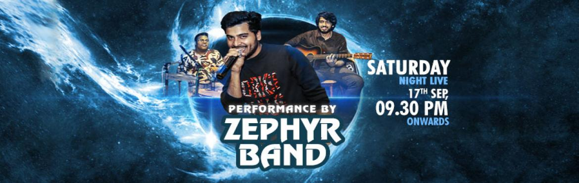 Book Online Tickets for Saturday Live: Zephyr Band is Back, Gurugram. No plans for Saturday? Don't make any other plan as Zephyr Band is coming live at Impromptu on 17th September, 2016, Saturday from 09.30 PM onwards. It is one of the popular bands of the town that makes you groove on the popular Bollywood and S