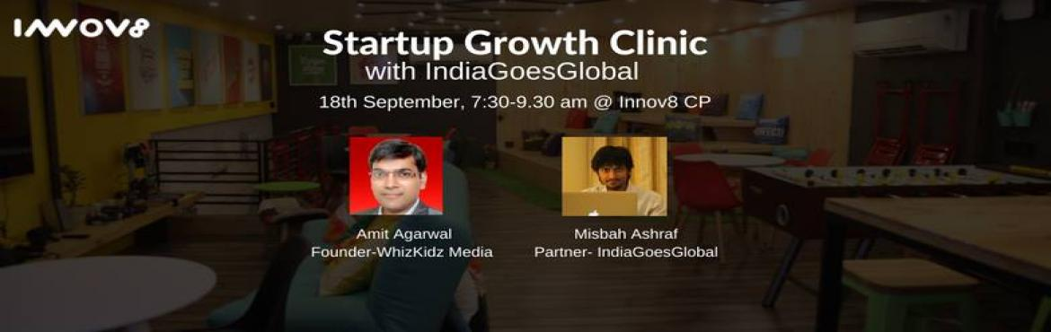 Book Online Tickets for IGG Growth Clinic (7-Eleven), NewDelhi. Format - Timing - We prefer odd hours like early morning on Sundays! ** You need to be really crazy to show up at this hour :)   Speakers - Ex Googler and YouTube India Head Amit Agrawal (linkedin.com/in/amit13) Growth Hacker to global startups