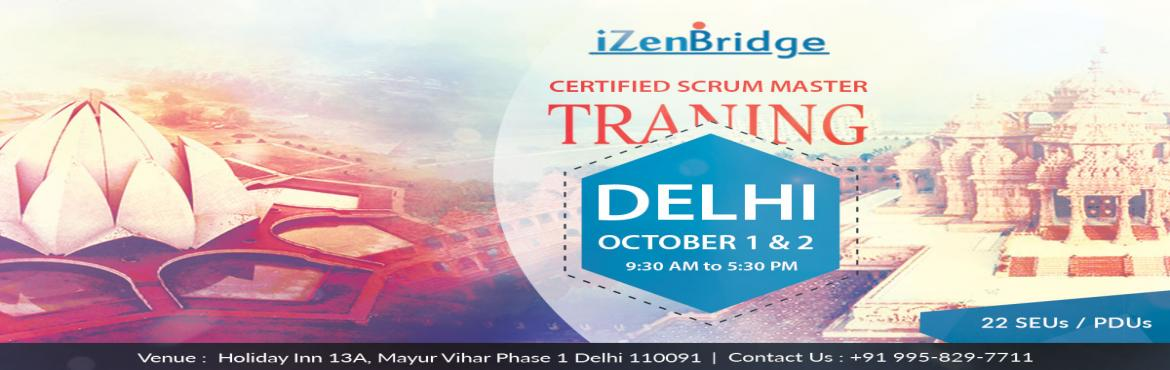 Book Online Tickets for Get CSM Certified - 2 Day Workshop, NewDelhi. Certified ScrumMasters are much in Demand, they help project teams properly use Scrum, increasing the likelihood of the project\'s overall success. CSMs understand Scrum values, practices, and applications and provide a level of knowledge and ex
