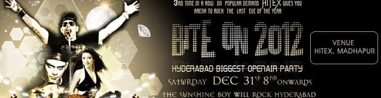 Book Online Tickets for Bite On 2012 - New Year Eve Party @ Hite, Hyderabad. Use following coupon code \\\