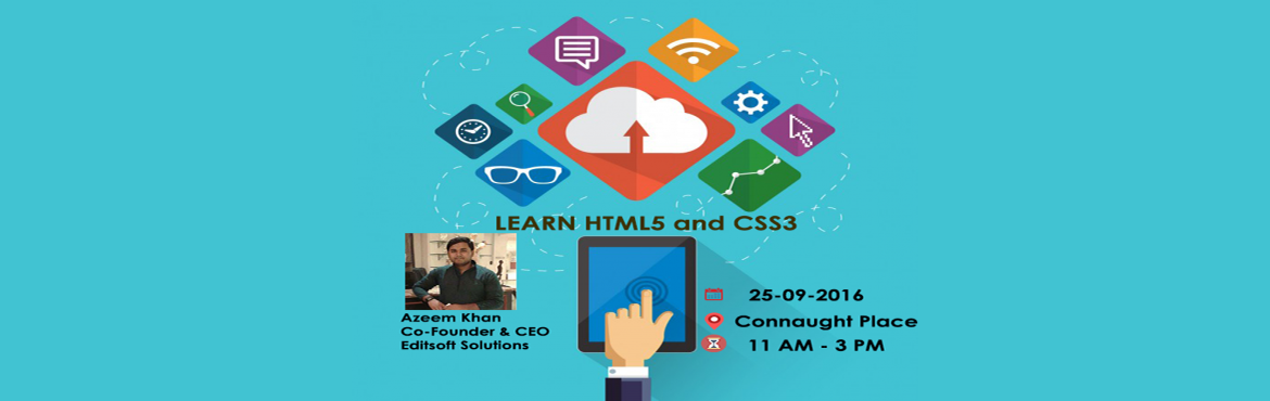 Book Online Tickets for Build your own Website in a day, NewDelhi. Details ------------     Who should attend?-Anyone with a laptop.-Students looking to enhance knowledge/add skills to CV.-Working professionals keen to enhance skills.Register at: http://goo.gl/D0PZi3or call at 9978538243.(Entry closes at 3