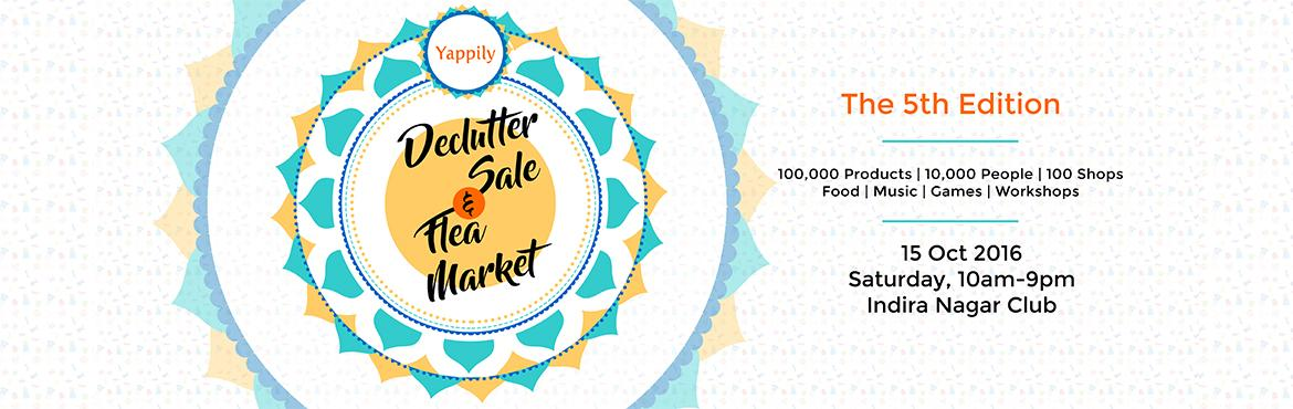 DeClutter Sale And Flea Market - 5th Edition