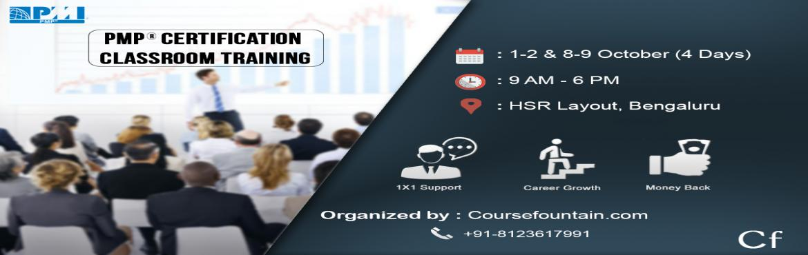 PMP Classroom Training, Bangalore - October