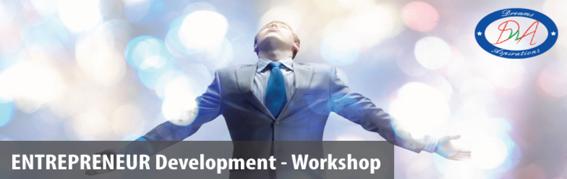 Book Online Tickets for ENTREPRENEURSHIP WORKSHOP HYDERABAD, Hyderabad. ARE YOU LOOKING TO START A NEW BUSINESS? ARE YOU LOOKING TO GROW YOUR EXISTING BUSINESS?Join our Entrepreneur Development WorkshopWouldn't it be nice to be your own boss, work on your own schedule, and make money doing something that you'