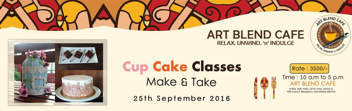 Book Online Tickets for Cup Cake Classes, Bengaluru.