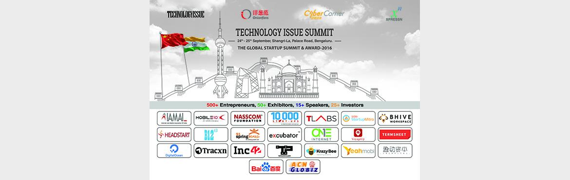 Book Online Tickets for Technology Issue Summit, The Rarest Oppo, Bengaluru. Technology Issue Summit, China-India Internet Industry Investment Conference Why you can't miss: 1. 30 + Investors from India and China (Sequoia Capital and Accel Partners) 2. 15 + Guest Speakers (Mohandas Pai and Tata Innovation Centre) 3. 60