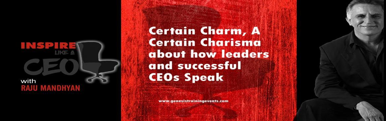 Inspire Like A CEO by Raju Mandhyan