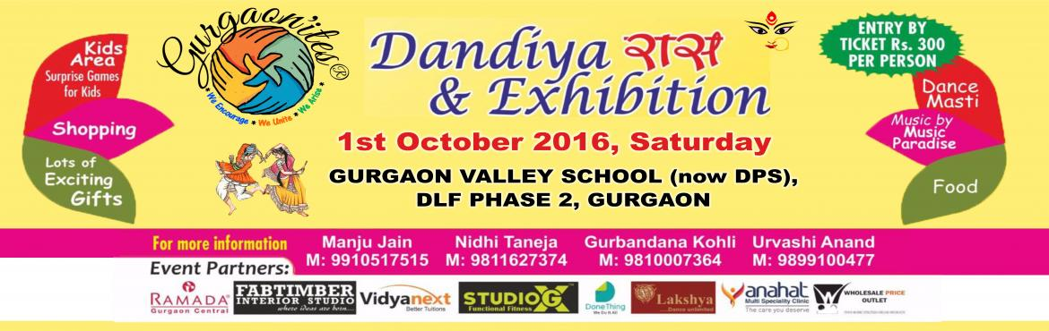 Gurgaonites Dandiya Raas and Exhibition 2016