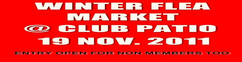 WINTER FLEA MARKET @ CLUB PATIO