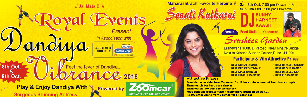Royal Events presents Dandiya Vibrance 2016