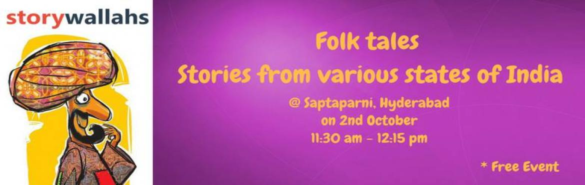 Folktales from across India with Storywallahs