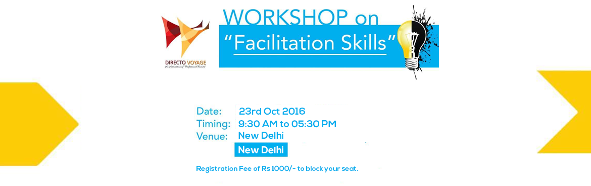 WORKSHOP ON FACILITATION SKILLS