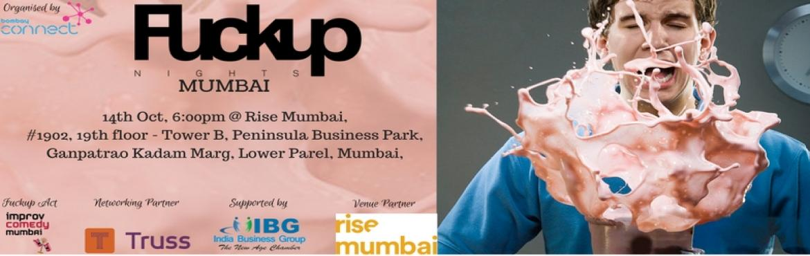 Fuckup Nights Mumbai 4th edition