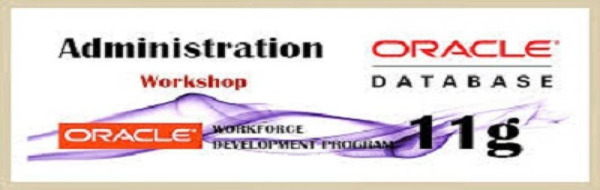 Hands-on Oracle DBA Workshop by experienced professional