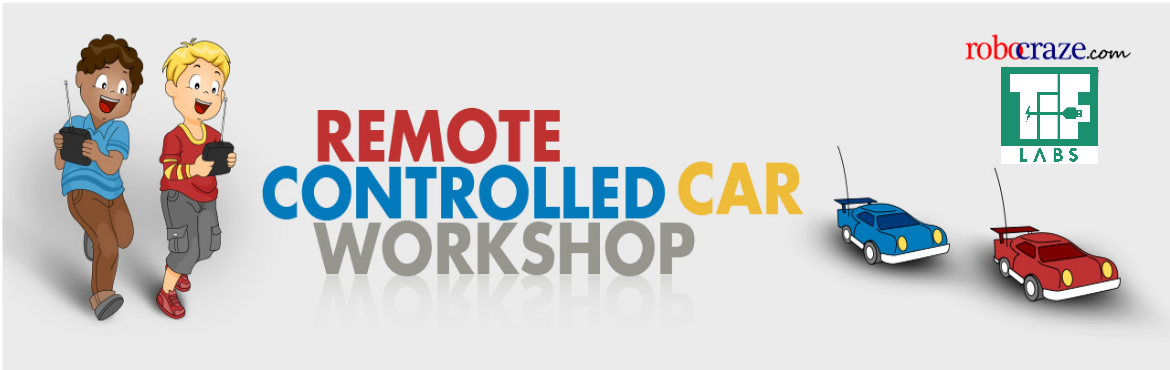 Book Online Tickets for Remote Controlled Car, Hyderabad. Robotics is the future! In this workshop, the kids will learn how to make a Remote Controlled Car. It is best suited for children who have an inclination towards Electronics and building Robots. Topics: Fundamental of Robotics, Two-wheeled Robots, Co