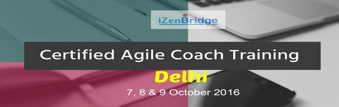 Book Online Tickets for Certified Agile Coach in Delhi, NewDelhi. Do you understand the nuances of an agile coaching? What makes a high performing team and how an Agile coach a shape the future of a project. Do you understand how to hold an effective conversation with your team in a non-threatening environment whic
