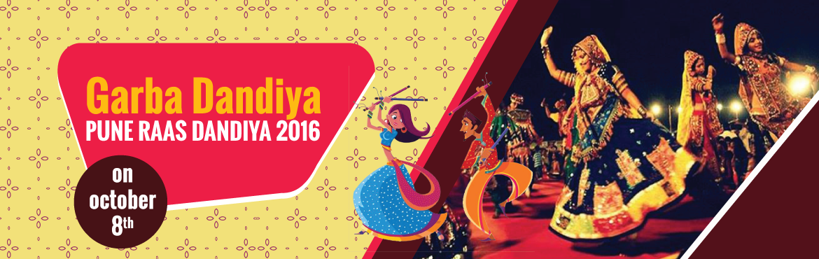 Garba Dandiya event  at Aundh, PUNE  RAAS DANDIYA 2016