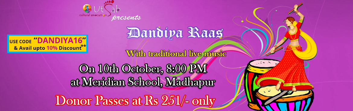 UTSAB presents Dandiya Rass