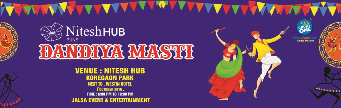 Book Online Tickets for Dandiya Masti 2016, Pune.