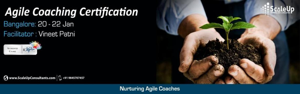Book Online Tickets for Agile Coach Certification, Bangalore - J, Bengaluru. The Agile Coaching Workshop is a 3-days face-to-face training program with the primary objective to make learners efficient in coaching agile teams. It helps the participants understand and develop the essential professional coaching skills, apprecia