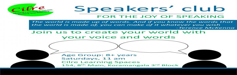 Speakers Club-29nd Oct