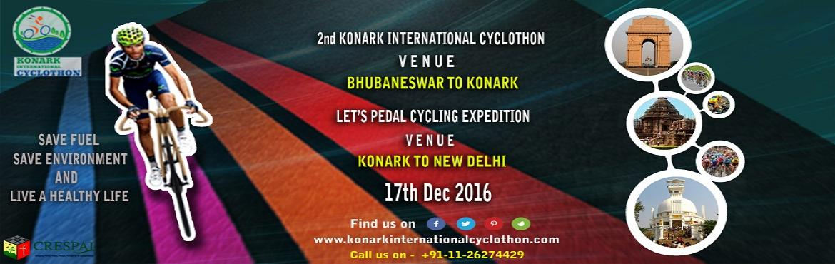 KONARK INTERNATIONAL CYCLOTHON, 2016