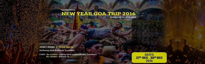 NEW YEAR TRIP TO GOA